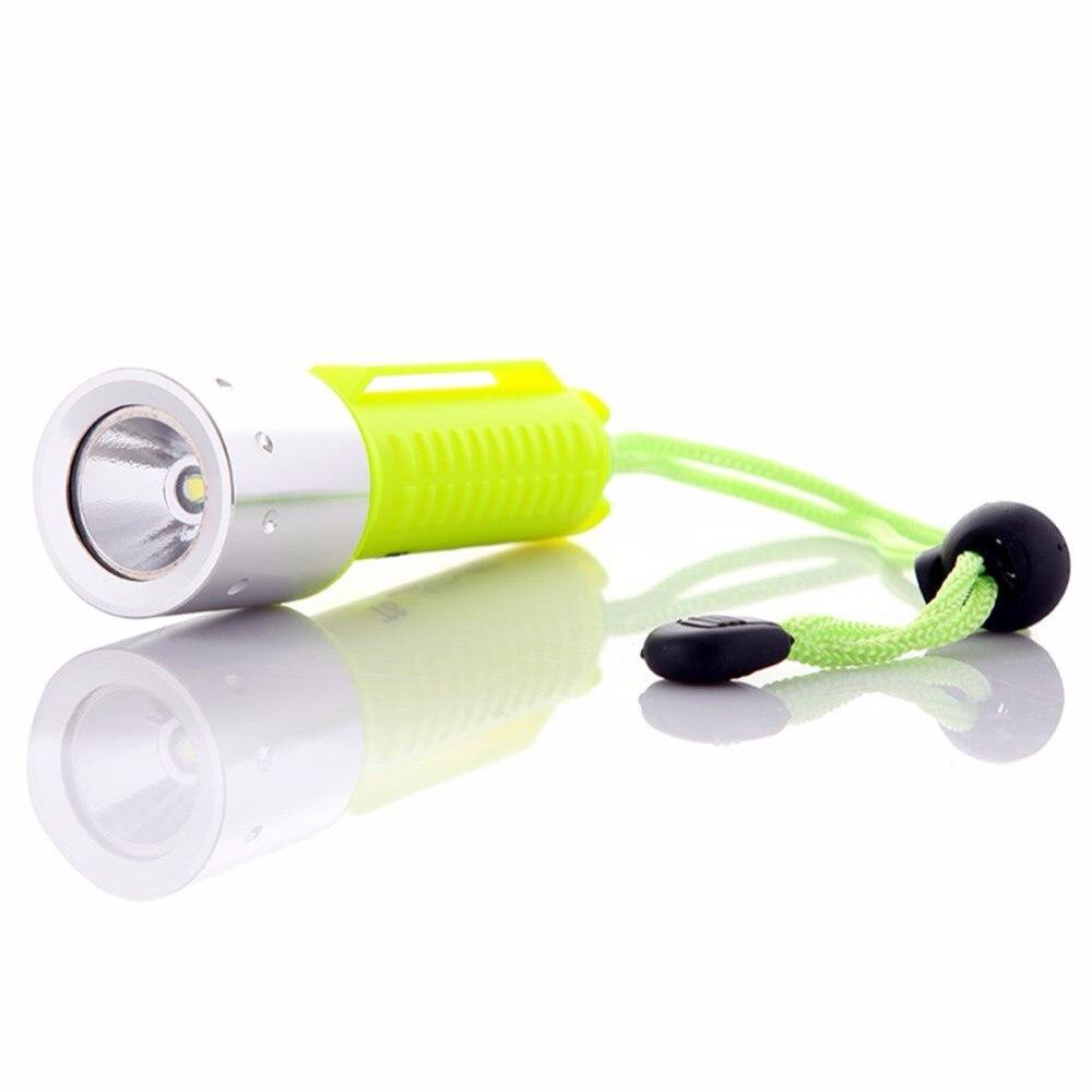 LED Diving Flashlight Lantern T6 Waterproof Underwater Flashlight LED Diving Torch Light Lamp