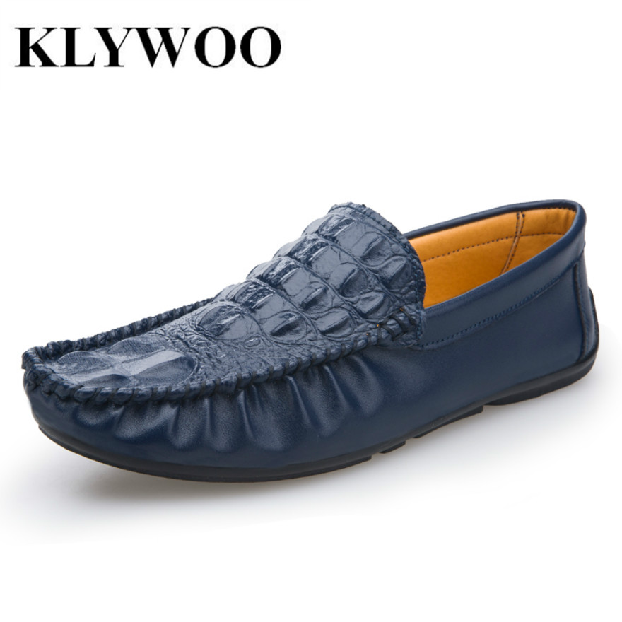 KLYWOO Loafers Men Brand Fashion Summer Soft Leather Men Shoes Loafers For Men Flats Leather Shoes Men Driving Casual Shoes 2016 new style summer casual men shoes top brand fashion breathable flats nice leather soft shoes for men hot selling driving
