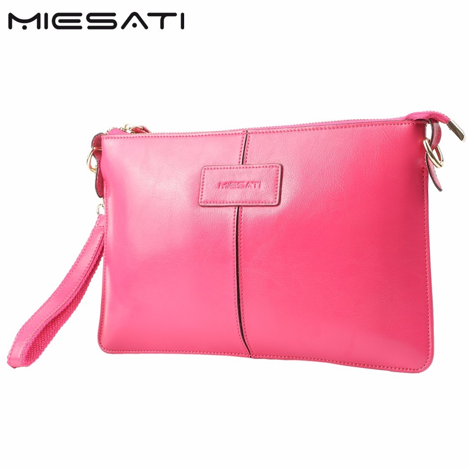 MIESATI New Women Handbag, Fashion Mini Day Clutches Brand Genuine Leather Shoulder Bags For Women Stylish Small Messenger Bag 2017 fashion all match retro split leather women bag top grade small shoulder bags multilayer mini chain women messenger bags