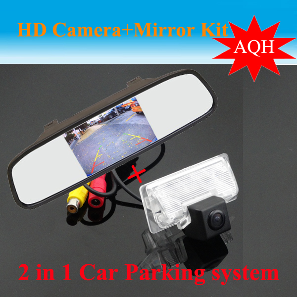 Hd 4 3 Color Tft Car Rear View Mirror Ccd Camera For Nissan