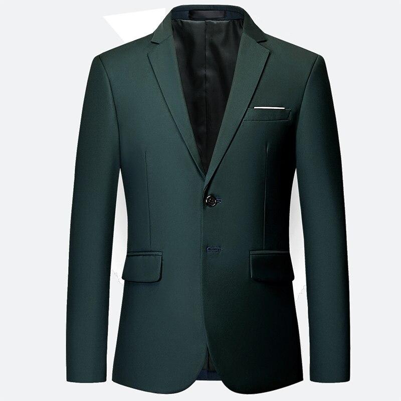 New Groom Wedding High-end Brand Formal Blazer Men Suit Jacket  / Men's Solid Color Casual Business Blazer Large Size Suit Coat