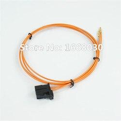 Najbardziej kabel światłowodowy złącze męskie i miedź część dla Audi Porsche BMW 100 cm