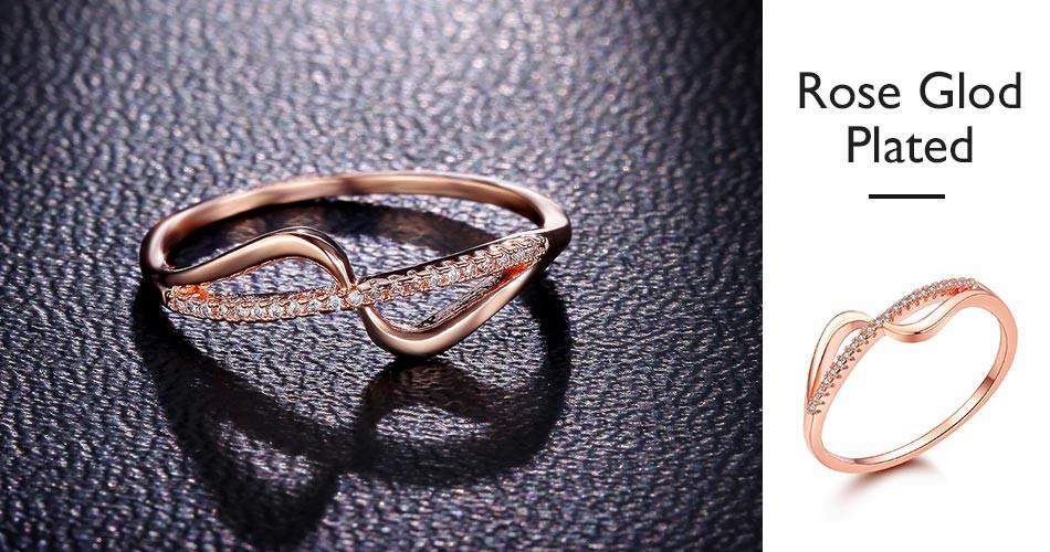 Infinity Shape Ring