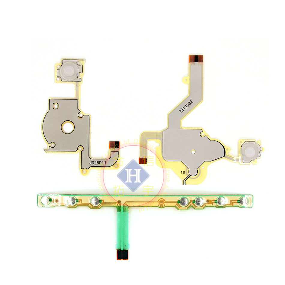 HOTHINK Replacement Direction Cross Button Left Key Volume Right Keypad Flex Cable For Sony PSP 2000 / PSP 2004 2001 2008