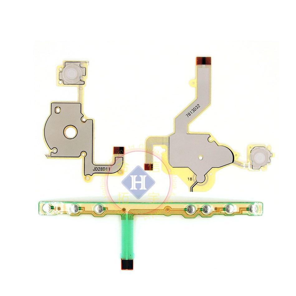 HOTHINK – câble flexible de remplacement, bouton croisé de Direction, touche de Volume gauche, pour clavier droit, pour Sony PSP 2000 / PSP 2004 2001 2008