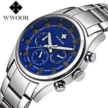 Top Brand Luxury Multifunction Waterproof Sports Watches Men Quartz Watch Male Steel relogio masculino With Seiko Y121 Movement