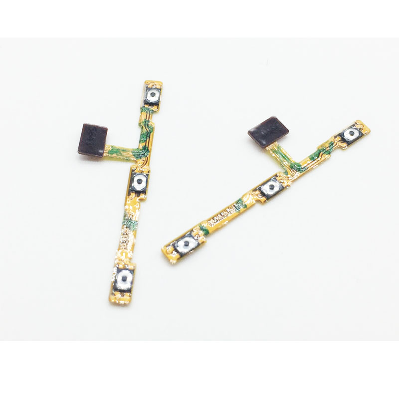 1 Pcs New For Huawei GR5 2017 Volume Power On/Off Button Switch Flex Cable For Huawei Honor 6X Repair Parts