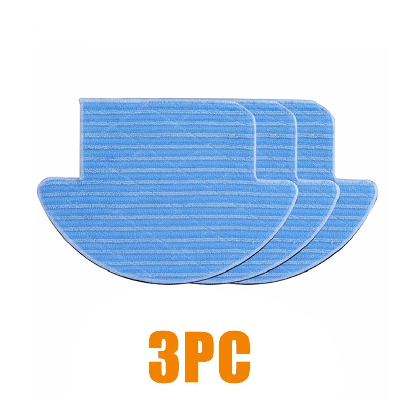 Original Brand New Mop cloth for ILIFE V7S/PRO Robot Vacuum Cleaner Parts Spare Replacement Kits for Robotic Vacuum Cleaner 12pcs lot high quality robot vacuum cleaner wet mop hobot168 188 window clean mop cloth weeper vacuum cleaner parts