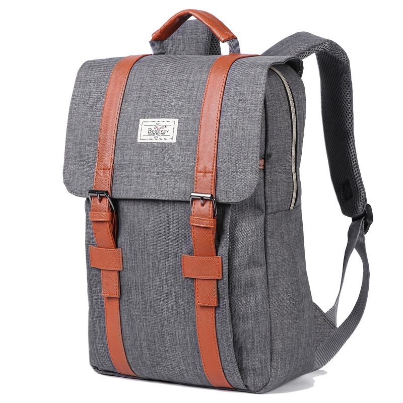 2019 Vintage Men Women Canvas Backpacks