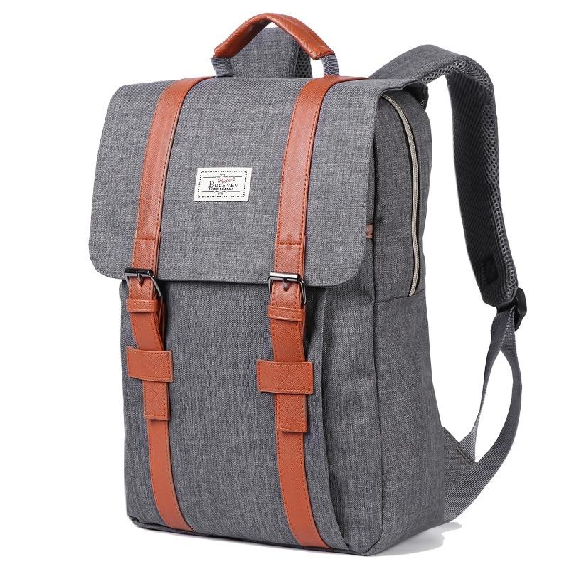 2019 de los hombres Vintage de lona de las mujeres mochilas bolsas para la escuela de niños adolescentes chicas de gran capacidad portátil de mochila de los hombres de la moda mochila