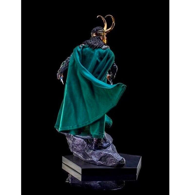 Thor: Ragnarok Super-Vilain Loki Laufeyson Anime Chiffres Décoration PVC Action Figure Collection Modèle Poupée G2195