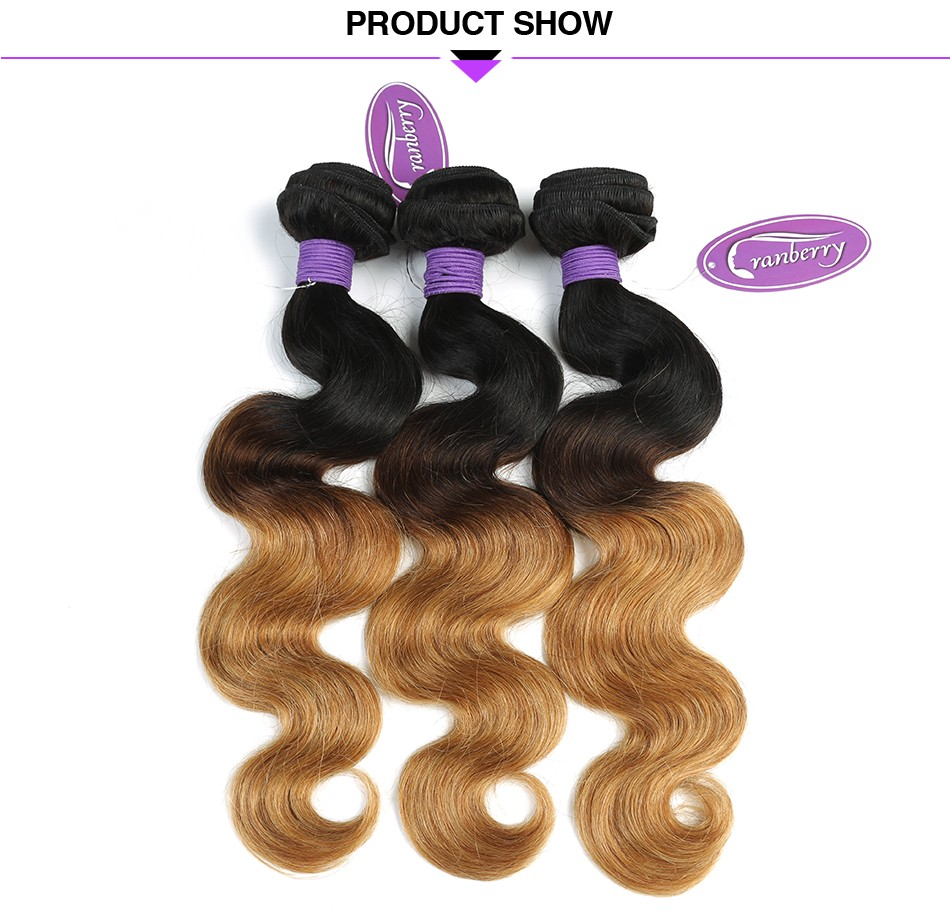 ombre body wave hair bundles