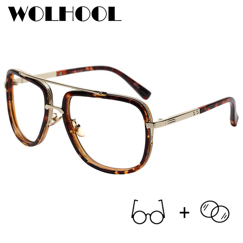 66f7b08009 Stylish Oversized Alloy Glasses Optical Women High Myopia Glasses  Photochromic Prescription Eyeglasses Plus Size Spectacle-in Prescription  Glasses from ...