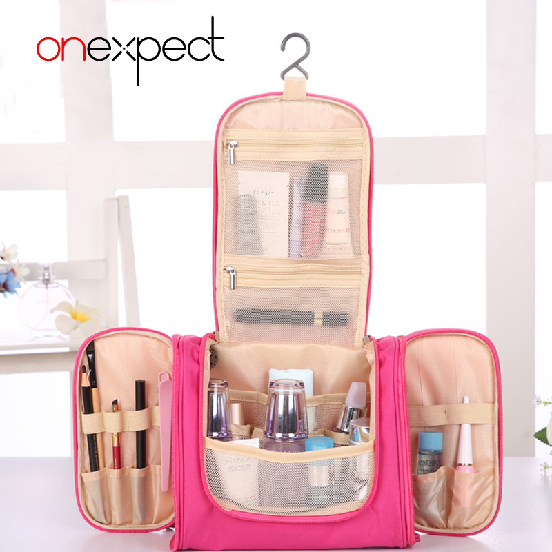 694732538e7 Detail Feedback Questions about onexpect Toiletry Travel Women Beauty Makeup  Make Up Box Case Pouch Organizer Cosmetic Bag Ourdoor Travel Bag Bolsas  Neceser ...