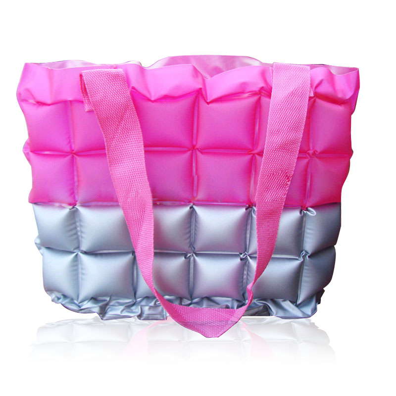 REAL PHOTO 2015 High quality fashion Color matching candy color bags waterproof beach bags women bags