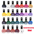 Professional Vernis Stamping Nail Art Polish 25 Colors 10ml Nail Polish Varnish For Manicure Printing