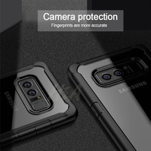 Samsung Galaxy S8 Plus Note 8 Transparent Shockproof Samsung Note 8 S8 Case