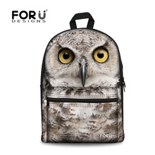 cd86e37bb2d5 Brand Fashion Animal Zoo Children School Backpack Owl Tiger Horse Print  Casual Teenager Boys Kids Backpack