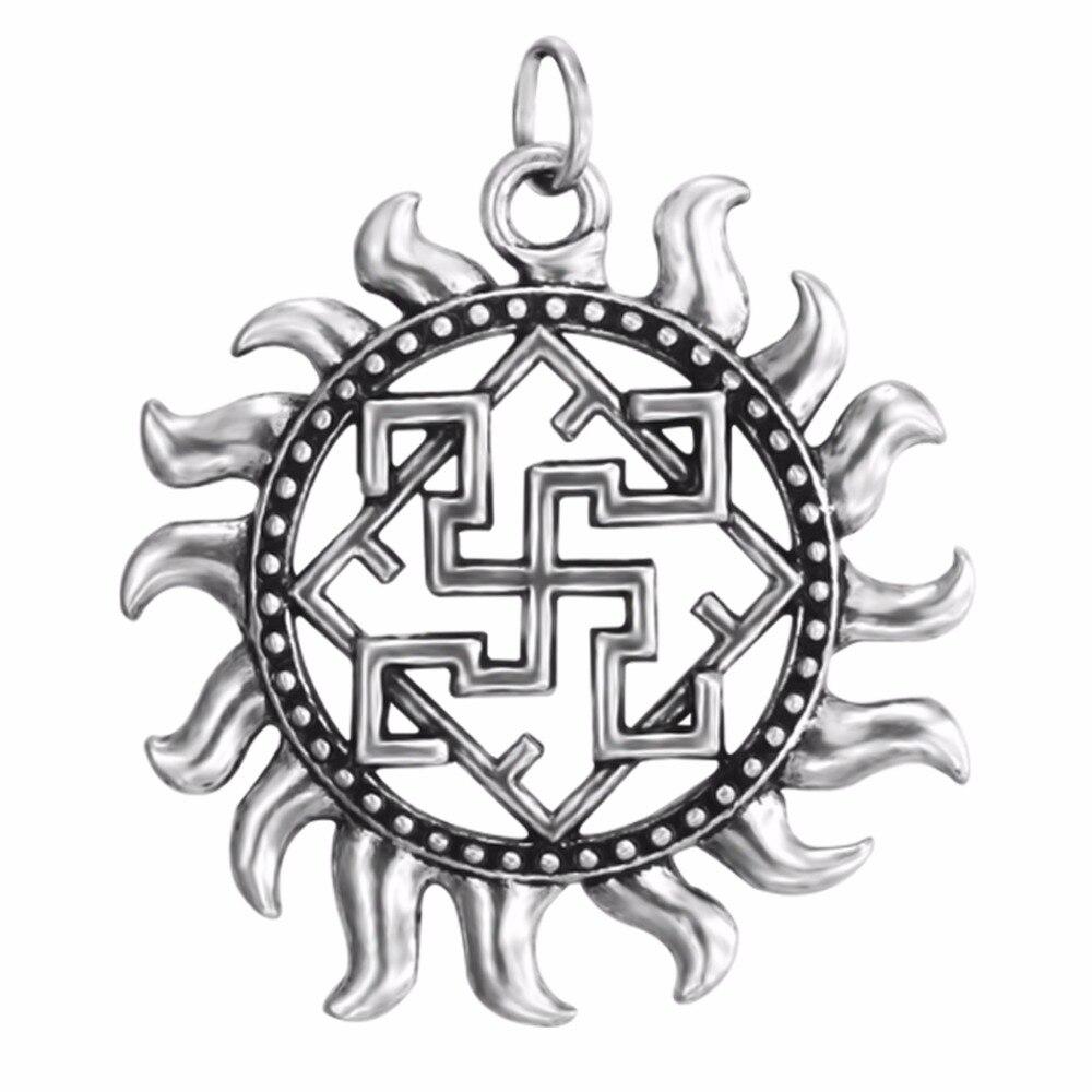 4 Leaf pendants antique silver tone L53