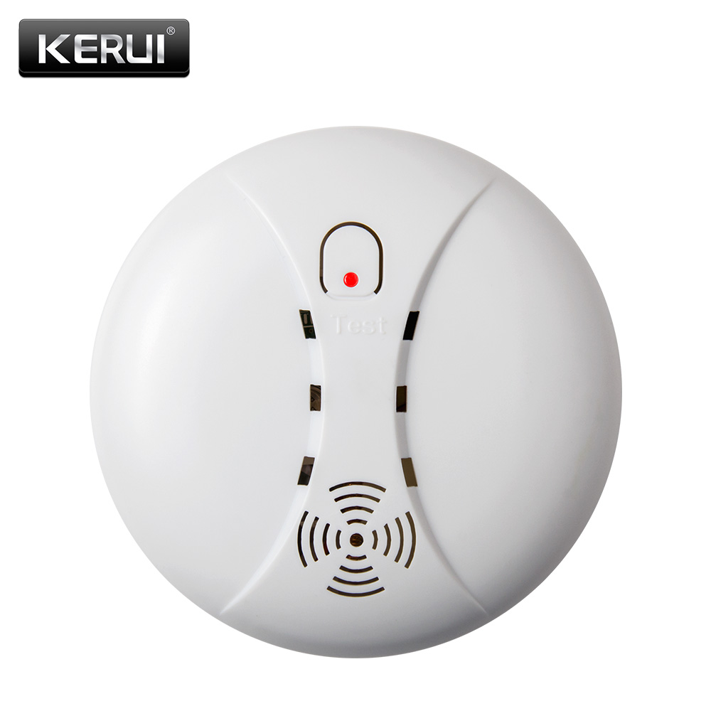 433mhz portable alarm sensors wireless fire smoke detector for all of home se. Black Bedroom Furniture Sets. Home Design Ideas