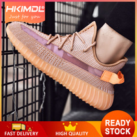 HKIMDL 2019 New Comfortable Fashion Men'S Popular Casual Shoes Men Lightweight Breathable Shoes Male High Quality Sneaker Bronze