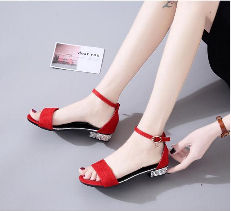 XCZJ Korean Style 2018 Summer Women Sandals Open Toe Flip Flops Women's Flat Sandle With low Women Shoes Gladiator student Shoes 2
