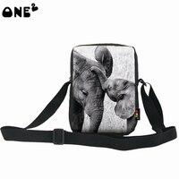 ONE2 Design Wholesale Messenger Bags 3d Cartoon Purses Handbags Shoulder Bag Teenager Suitcase Girl Print