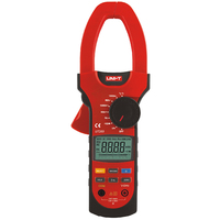 UNI T UT209 Data Hold Clamp Meters 4000 Counts LCD Multifuction Ohm DMM DC AC Voltmeter AC Ammeter Tester