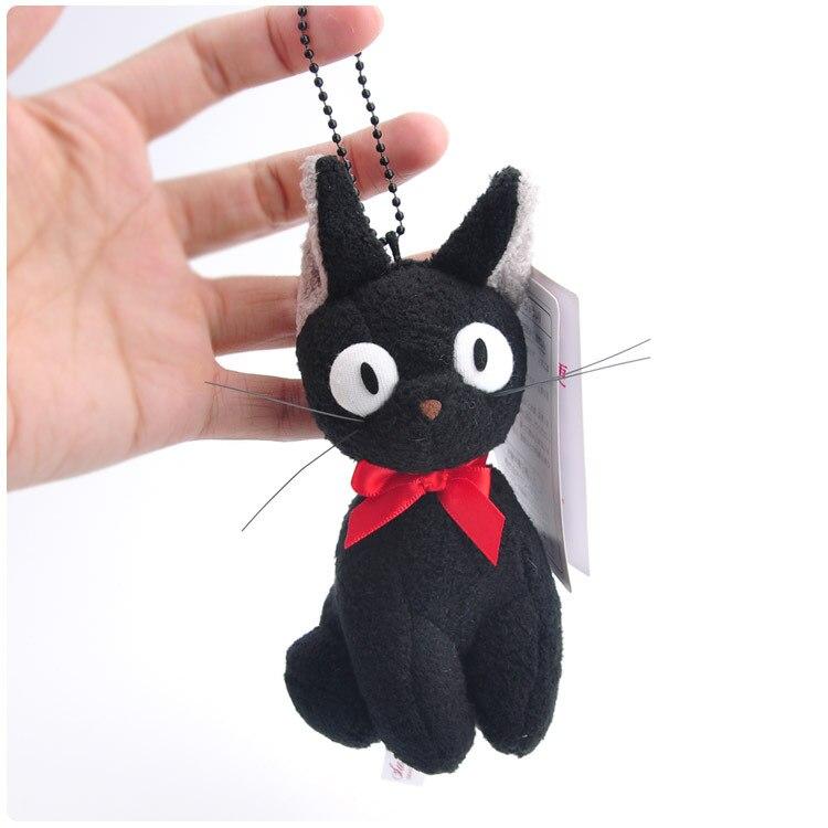 Plüsch-schlüsselanhänger Japan Anime Kiki Der Lieferung Service Schwarze Katze Plüsch Spielzeug Kawaii Neko Kleine Plüsch Anhänger Keycahin Stofftiere & Plüsch
