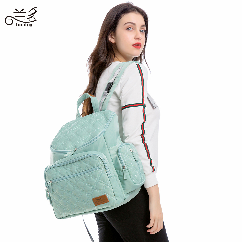 LAND Mommy Diaper Bags Mother Large Capacity Travel Nappy Backpacks with changing mat Convenient Baby Nursing LAND Mommy Diaper Bags Mother Large Capacity Travel Nappy Backpacks with changing mat Convenient Baby Nursing Bags MPB37