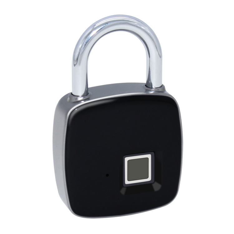Portable Intelligent Fingerprint Lock Antitheft Fingerprint Lock Luggage Backpack Electronic Lock Home Storage Cabinet Padlock