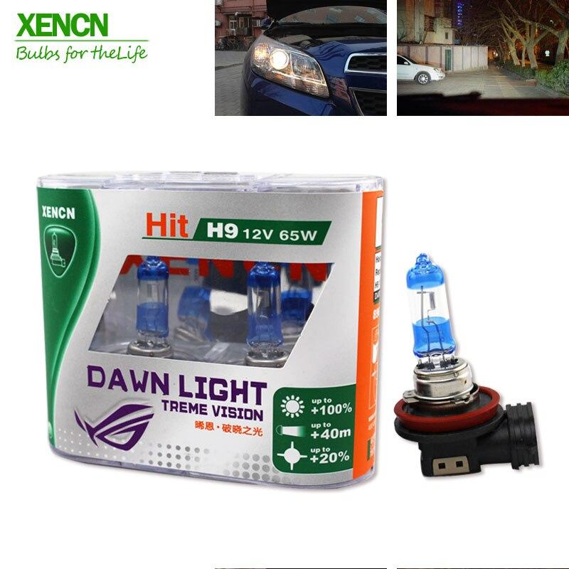 XENCN H9 12V 65W 3800K Super bright Second Generation Dawn Light Halogen Car Bulbs Headlight Lamp AAA Grade for mazda cx-5 xencn 9008 h13 12v 60 55w 5300k blue diamond light car bulbs headlight xenon look halogen lamp for chevrolet cruze hummer