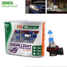 XENCN H9 12V Segunda Geração 65W 3800K Super bright Lâmpadas Do Farol Do Carro Lâmpada de Halogéneo Luz Do Amanhecer AAA grade para mazda cx-5