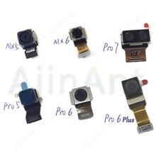 Original principal voltar câmera cabo flexível para meizu mx2 mx3 mx4 mx6 mx5 mx6 mx pro 2 3 4 5 6s 7 mais voltar câmera traseira flex