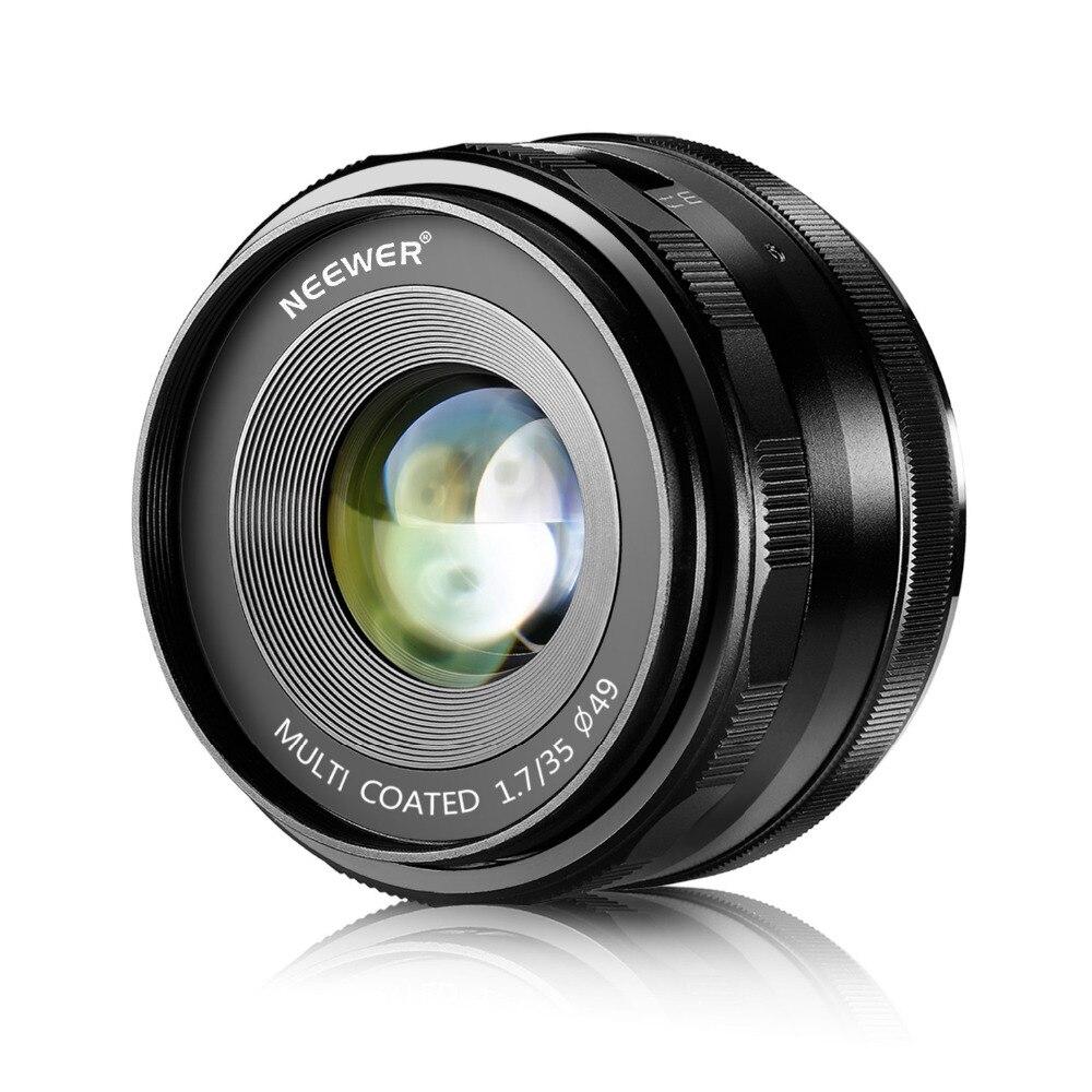 Neewer 35mm f/1.7 Manual Focus Prime Fixed Lens for FUJIFILM APS-C Digital Cameras X-A1/A2, X-E1/E2/E2S, X-M1, X-T1/T10, X-Pro1Neewer 35mm f/1.7 Manual Focus Prime Fixed Lens for FUJIFILM APS-C Digital Cameras X-A1/A2, X-E1/E2/E2S, X-M1, X-T1/T10, X-Pro1