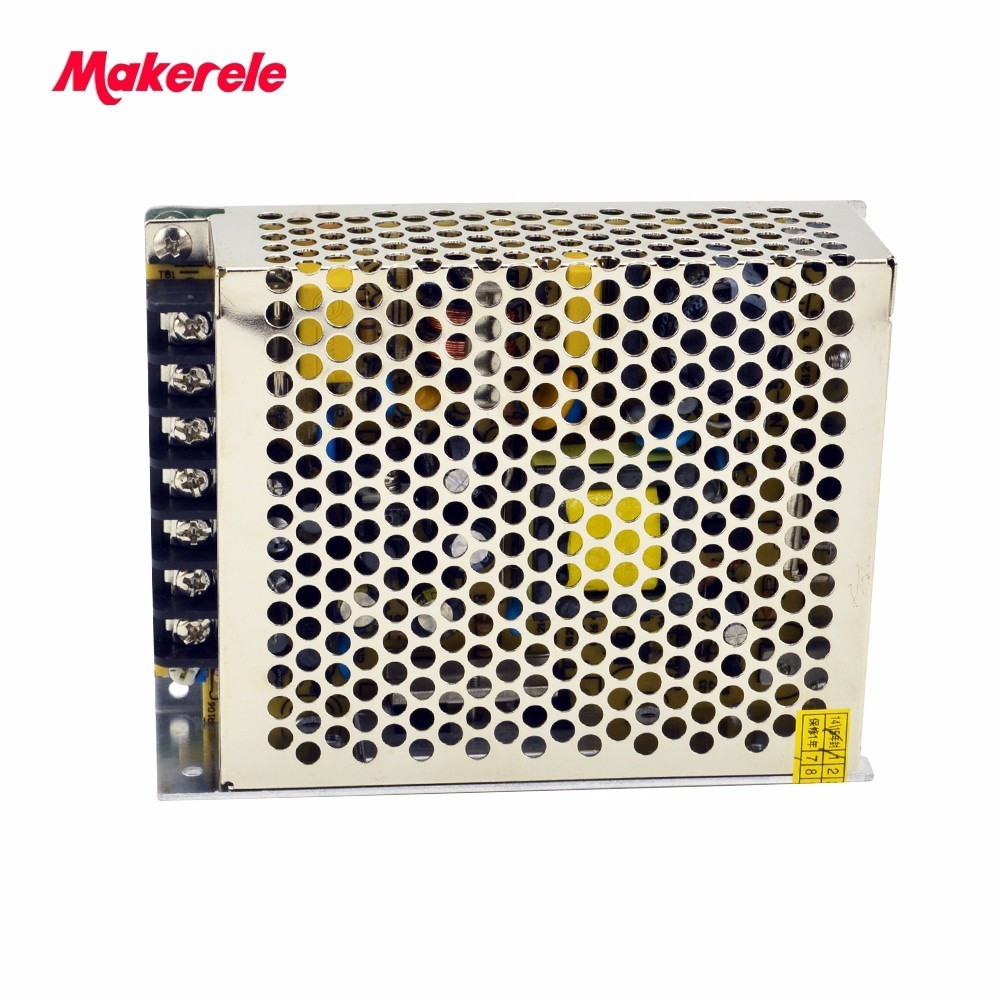 AC to DC 50w 5V 24V 12V DC output triple output net-50d enclosed switching power supply 3A 1A 1A makerele brand meanwell 12v 350w ul certificated nes series switching power supply 85 264v ac to 12v dc