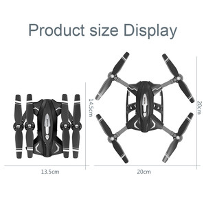Image 5 - F69Pro 2.4G 5MP 1080P Wide Angle WIFI FPV HD Camera Foldable RC Drone Quadrocopt Toys 5.27
