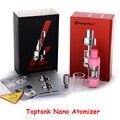 Original Kanger Toptank Nano  Atomizer Adjustable Airflow Clearomizer Tank with SSOCC Coil for E Cigarette Topbox mini YY