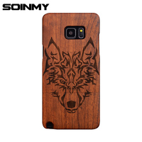 Soinmy S8 Case For Samsung Galaxy S8 Case Chockproof 100 Solid Wood Back Cover For S7