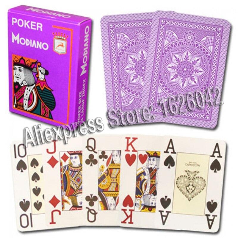 XF Modiano 4 cartes marquées latérales Jumbo pour analyseur de Poker - 4