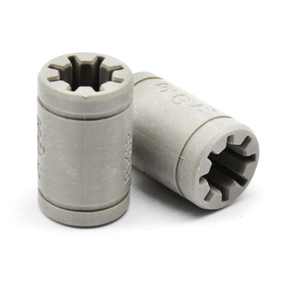 Funssor 7pcs Solid Polymer LM8UU Bearing 8mm Shaft Drylin RJ4JP 01 08 For Anet Reprap Prusa