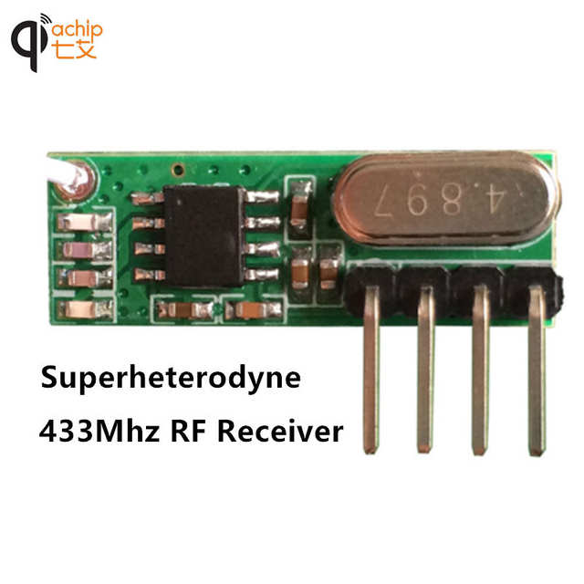 online shop new433mhz rf transmitter and receiver superheterodyneplaceholder new433mhz rf transmitter and receiver superheterodyne uhf ask remote control module kit small size low power
