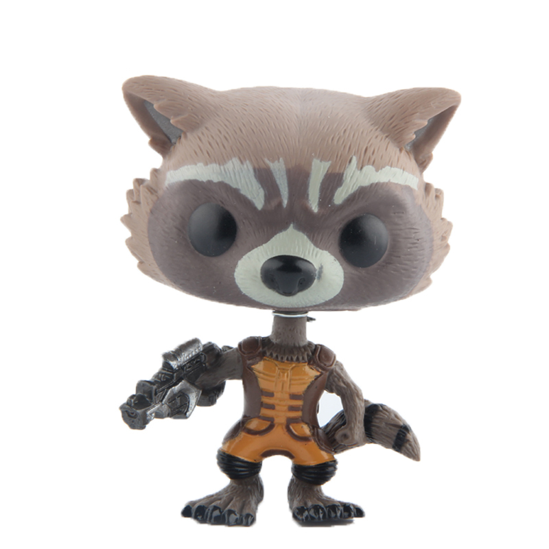 Guardians of the Galaxy Rocket Vinyl Action & Toy Figures Children Toys Doll 4 10cm