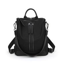 2017 Пояса из натуральной кожи Для женщин Рюкзаки большой Ёмкость плеча Дорожные сумки рюкзаки для девочек-подростков школьные сумки винтажные C278