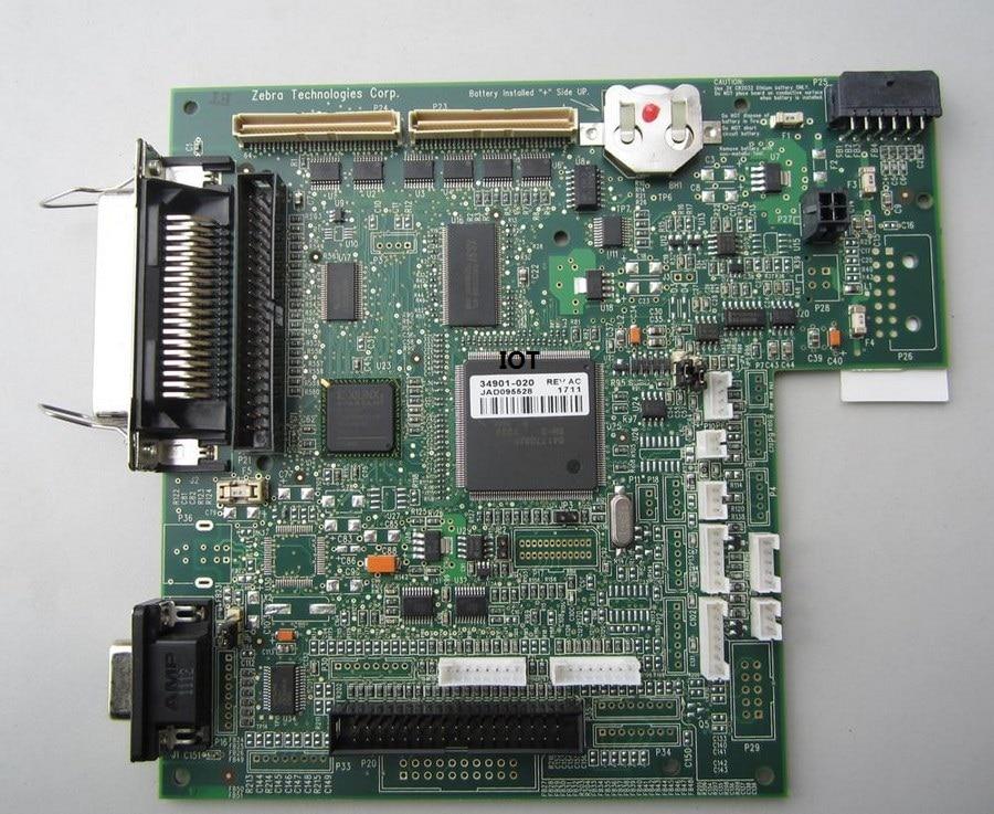 For Zebra 105SL barcode printer motherboard(200DPI/300DPI)  [original disassemble],100% test good!90days warranty! vactra disassemble rocky 4786ev motherboard industrial