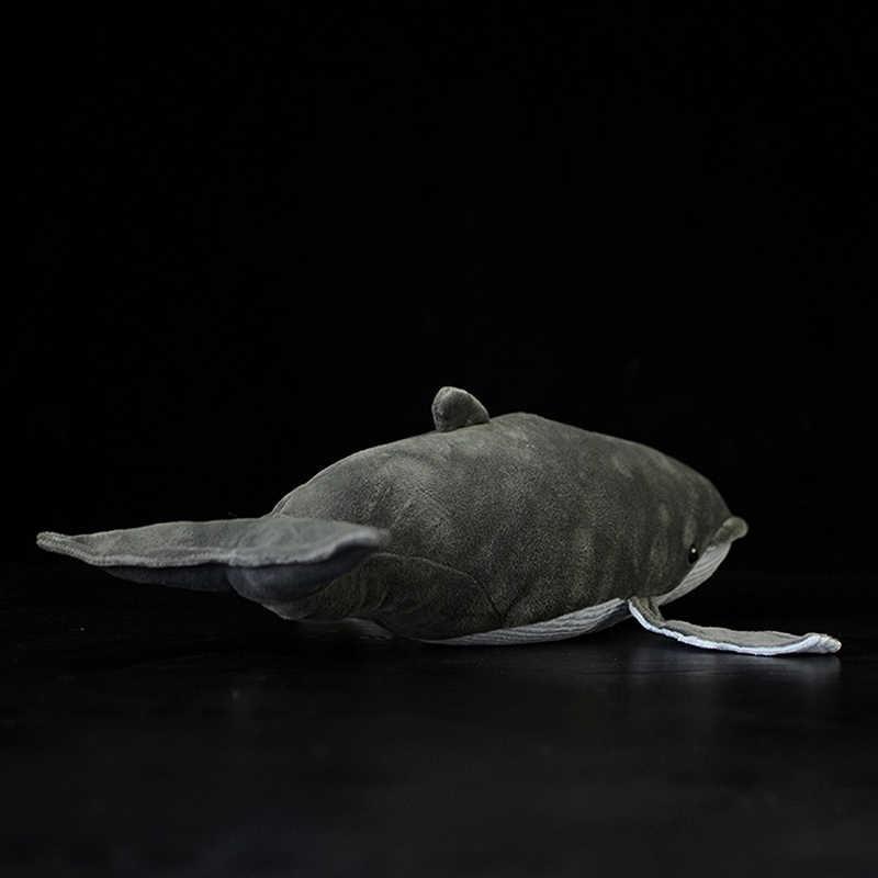 40 cm di Lunghezza Lifelike Blu Balena Farcito Giocattolo Extra Soft Megattera Giocattoli di Peluche di Simulazione Oceano Animale Giocattolo Regali