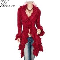 Wmwmnu Falbala Sweater Cardigan Women Long 2017 New Spring Autumn Fashion Ladies Cute Long Knitted Cardigans