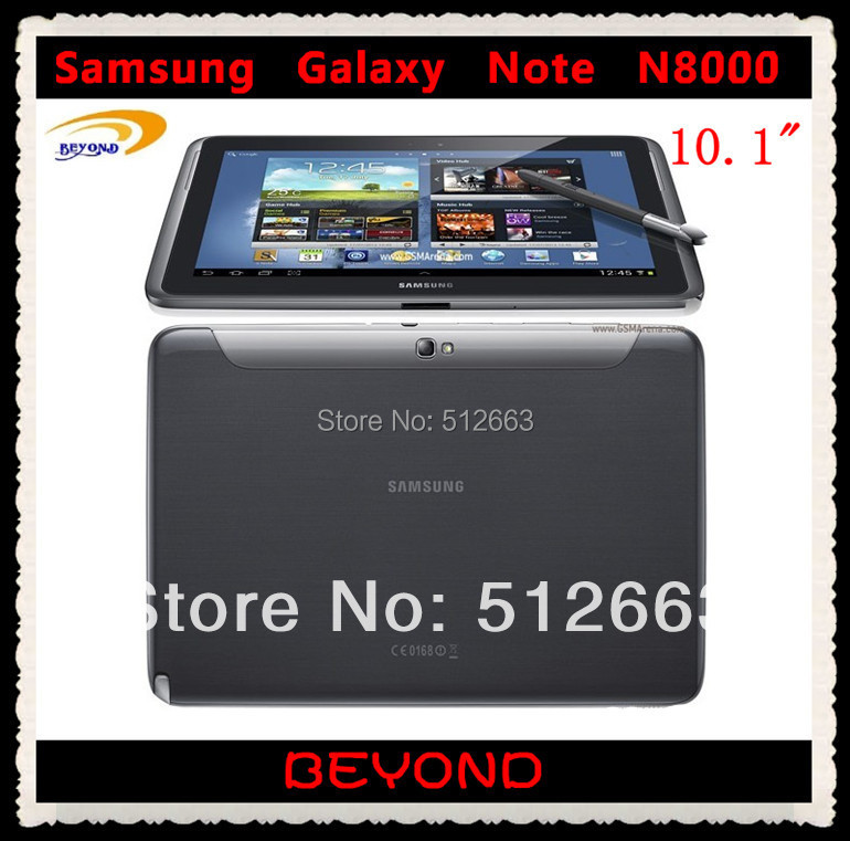 Samsung Galaxy Note 10.1 N8000 Original Unlocked Android 3G Quad core Mobile Phone Tablet 10.1