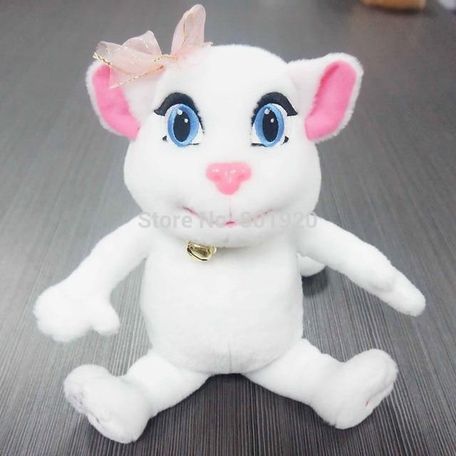 New Lovely Cat Talking Angela Plush Electronic Toy Stuffed Plush