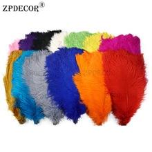 22-24 дюймов 55-60 см Frist-grade страусиное перо для украшение ручной работы изготовление